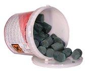 Neutralizační kameny 1kg bio, zelené - kostky pisoár