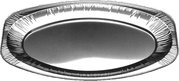 Podnos oválný ALU 43x28,6cm 5 ks