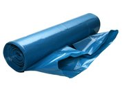 Odpadový pytel zatahovací modrý 70x110cm
