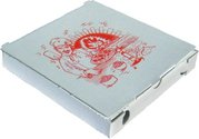 Krabice na pizzu 26x26x3cm 100 ks